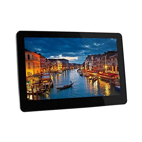 Digitaler Bilderrahmen 10-Zoll-IPS-Bildschirm Digitale Bilderrahmen Mit USB-SD-Kartensteckplätzen Und Digitalem HD-16: 9-Breitbild-Bilderrahmen Mit Fernbedienung,Black