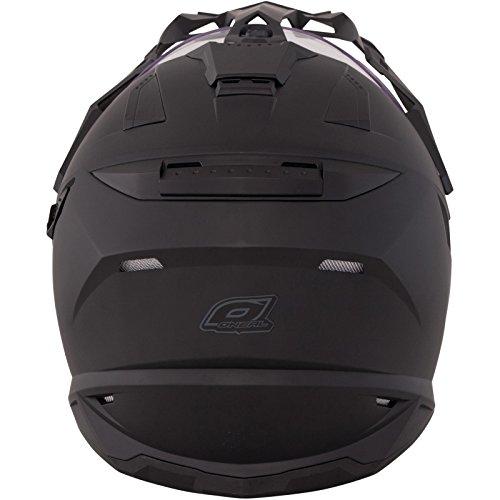 O'Neal Sierra Adventure Enduro Helm matt schwarz aerodynamischer Motorradhelm mit Sonnenblende, 0815-40, Größe X-Small (53 – 54cm) - 4