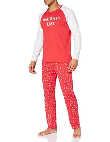 Brave Soul Men's LISTMENS Pajama Set, Multicolor, L