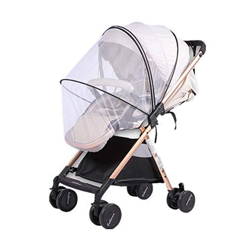 Voarge Universal Mückennetz/Insektenschutz Mit Reißverschluss für Kinderwagen/Babywagen, Extra gross, Feinmaschig, Reißfest & Waschbar  Idealer Schutz vor Wespen & Stechmücken
