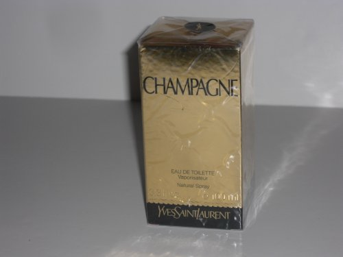 Champagne by YSL Yves Saint Laurent Eau de Toilette 3.3 oz Spray Cologne for Women