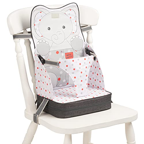 Polar Gear Baby Travel Booster Seat – Portable Highchair with 3 Point...
