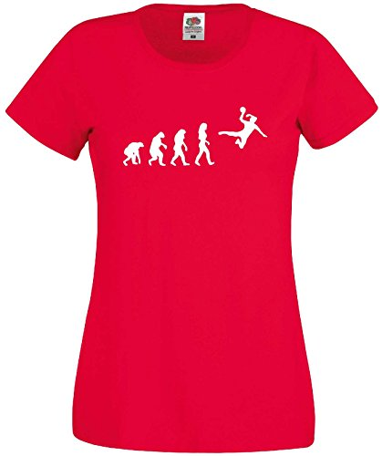 Handball Damen Evolution T-Shirt WM Shirt EM Trikotrot-XS