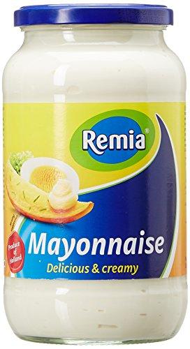 Remia Mayonnaise, 1000Ml/964Ge, White, Yellow & Blue, Small