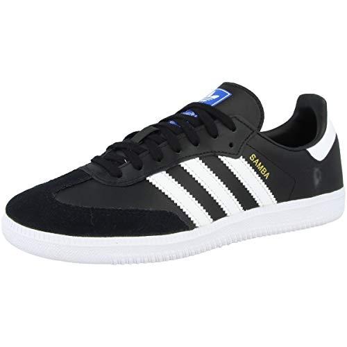 adidas SAMBA OG J, Unisex Kid's Shoes, Black Black 000, 3 UK (35.5 EU)