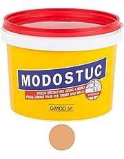 MODOSTUC Douglas – professionele plamuurmassa, klaar voor gebruik binnenshuis, ideaal voor hout en muur, sneldrogend en perfecte hechting, 1 kg.