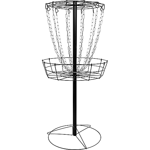 Dynamic Discs Compact Recruit Disc Golf Target | Frisbee Golf Basket | 12 Chain Portable Disc Golf Basket | Easy Assembly & Lightweight