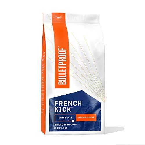 Bulletproof French Kick Dark Roast Ground Coffee 340g (French Kick Dark Roast Gemahlener Kaffee)