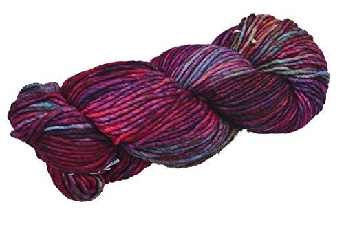 Malabrigo Wolle Mecha Fb. 005– Aniversario, 100g, Merinowolle handgefärbt, mit brilliantem Farbverlauf