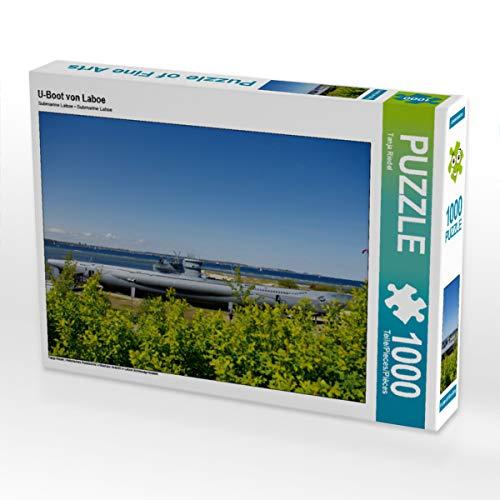 CALVENDO Puzzle U-Boot von Laboe 1000 Teile Lege-Größe 64 x 48 cm Foto-Puzzle Bild von Tanja Riedel