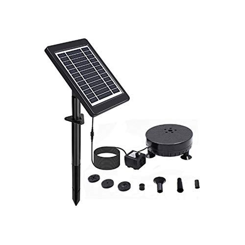 LXVY Solarspeicher Schwimm Brunnen, 6V3.5W Solarbrunnen Mit Batterie, Mit 5 LED-Leuchten, High-Power-Split-Brunnen, Geeignet Für Schwimmbad, Vogel Pool Und Garten Pool
