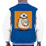 Star Wars BB8 Portrait Men's Varsity Jacket