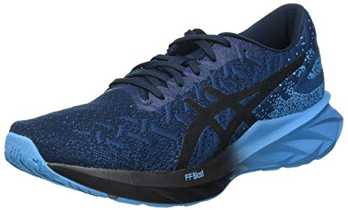 Asics Dynablast, Road Running Shoe Hombre, French Blue/Black, 47 EU