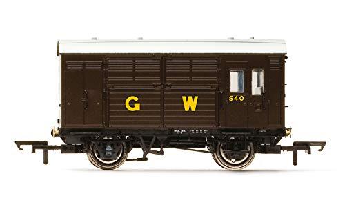 Hornby R6972 GWR, N13 Horse Box, 540 - Era 3 Rolling Stock - Wagon