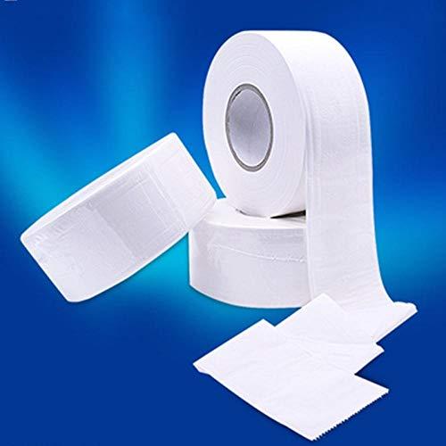 HDOUBR 1 Rouleau Top Qualité Jumbo Rouleau Papier Toilette 3 Couches En Bois Natif Doux Papier Toilette Pulpe Maison Papier À Rouler Forte Absorption D'eau-CHINE