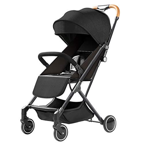 TXTC Lichte Buggy Compact inklapbaar, kinderwagen, paraplu kinderwagen voor reizen en meer, 5-punts riem en een hoge capaciteit Basket