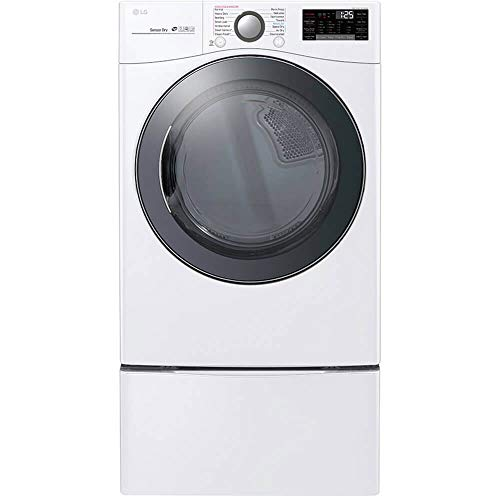 LG DLEX3900W 7.4 White Smart wi-fi Enabled Electric Dryer