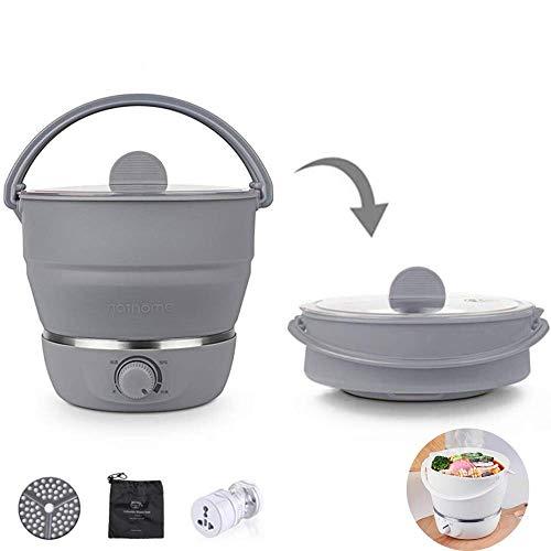 Faltbarer Wasserkocher, Dampfgarer Elektrische, Home Elektrische Pfanne, Hot Pot...