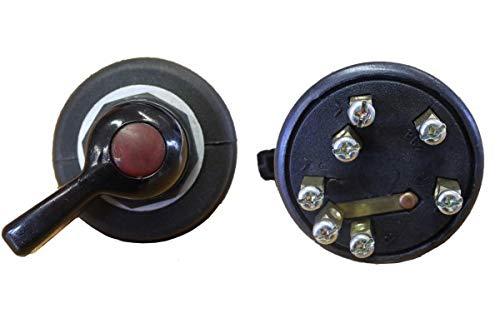 Wallentin & Partner Blinklichtschalter mit Kontrolleuchte | Blinkerschalter Traktor