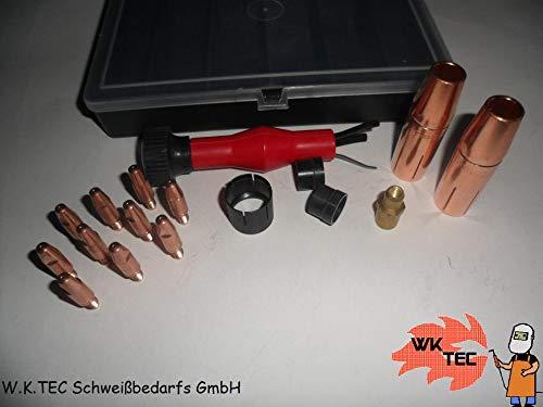 Ersatzteilkaste für Draht 1,0mm passend AL-AW 2500,ML Fronius, Castolin 18 Teile