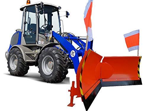 Vario Schneeschild Orange Euro-Aufnahme Breite 200cm Verstellung hydraulisch 7-Fach