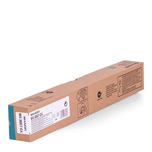 SHARP Original Toner MX36GTCA MX-36GTCA - Premium Drucker-Kartusche - Cyan - 15000 Seiten