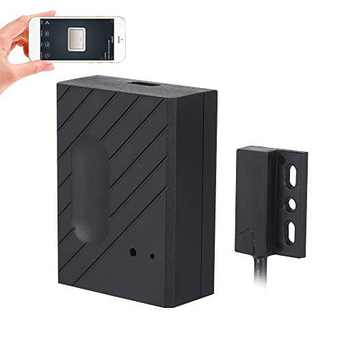 OWSOO Interruptor Inteligente WiFi Puerta de Garaje, Compatible con Abrepuertas para Garaje, Control Remoto de App eWeLink, Sincronización, Compatible con Amazon Alexa