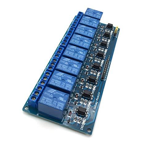 AptoFun - Modulo relè a 8 canali per Arduino Raspberry Pi Arm AVR DSP PIC (8 canali)