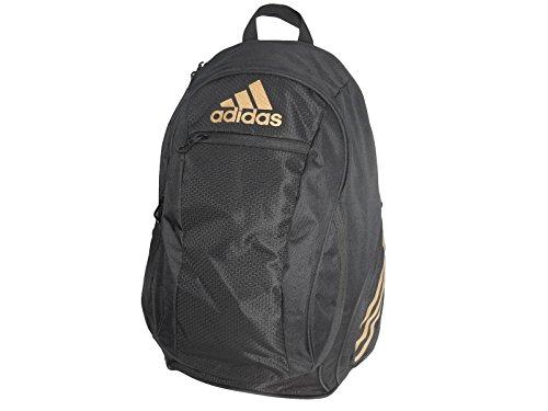 Adidas ESTADIO IV BACKPACK - Black/Gold, One Size