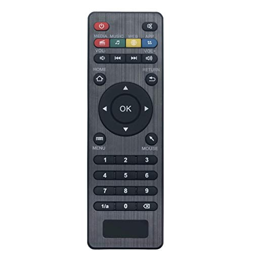 VINABTY U7 S905W 433MHz Ersatzfernbedienung Fernbedienung für Amlogic-Box CS918 MXV Q7 Q8 V88 V99 Android Smart TV Box
