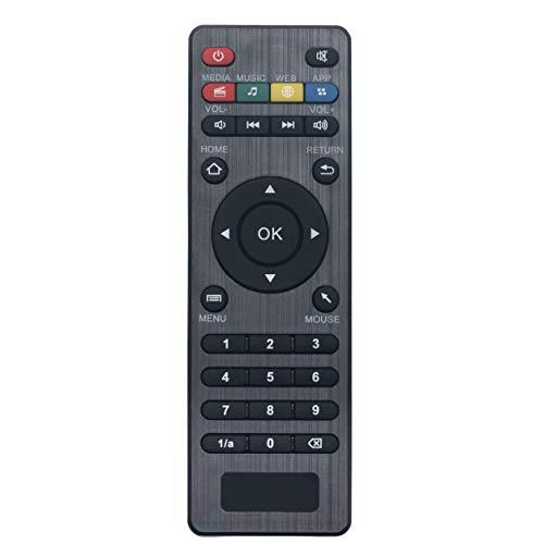 VINABTY U7 S905W 433MHz Mando a Distancia de Repuesto para Amlogic la Caja CS918 MXV Q7 Q8 V88 V99 Android Smart TV Box