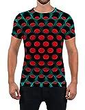 Fanient Men Women Casual T-Shirt Summer Crew Neck 3D Print Short Sleeve Tees Top L