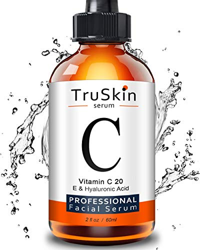 TruSkin Vitamin C Serum for Face [BIG 2-OZ Bottle] Topical Facial Serum with Hyaluronic Acid &...