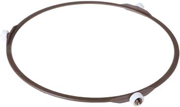 ideekls - Bandeja giratoria para horno de microondas (6,57 cm, altura de la rueda interior 1,2 cm)