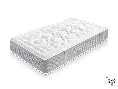 Dream Unlimite - Colchón de espuma con memoria (90 x 190 cm, 25 cm)
