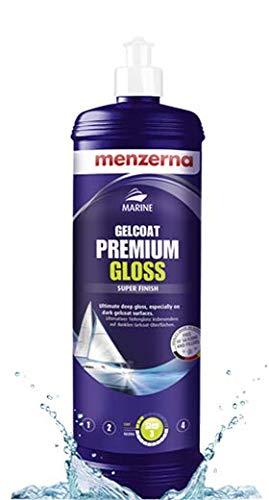 menzerna Marine GELCOAT Gelcoat Premium Gloss Bootspolitur Bootspflege 1 Liter