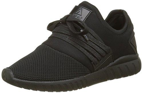 Asfvlt Area LO Sneaker, niedrig, Unisex, Schwarz - Black Shadow - Größe: 41 EU