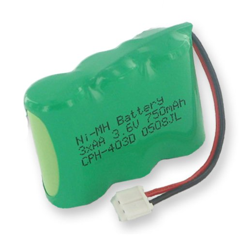 Empire Cordless Phone Battery, Works with Radio Shack 23-197 Cordless Phone, (NiMh, 3.6V, 750 mAh) Ultra Hi-Capacity Battery