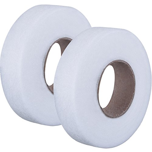 Fabric Fusing Tape Adhesive Hem Tape Iron-on Tape Each 27 Yards, 2 Pack (1/2...