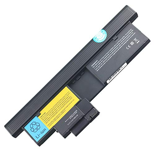 Szhyon Fit for 14.4V Laptop Battery 43R9256 43R9257 42T4565 42T4657 42T4658 fit for Lenovo ThinkPad X200 X200t X201 X201t Tablet 2263 2266