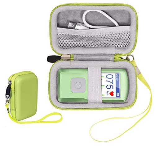 CaseSack EKG Heart Rate Monitor Case for SonoHealth, EMAY Handheld EKG Monitor, Wireless Handheld Home ECG Cardio & Electrocardiogram Machine