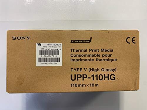 Sony UPP110HG Carta a getto d'inchiostro lucida - carta da stampa (A6 (105x148mm), lucida)