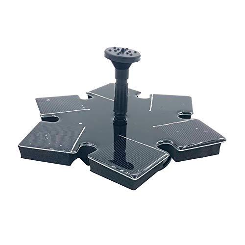 Solarbrunnenpumpe, Schwimmende Solarbrunnenpumpe für Vogelbad, Kleine Umfrage, Aquarium, Gartendekoration