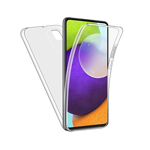 Funda para Galaxy A72 5G Full 360 Protección Frontal Trasera Transparente Compatible Con Galaxy A72 5G Cover
