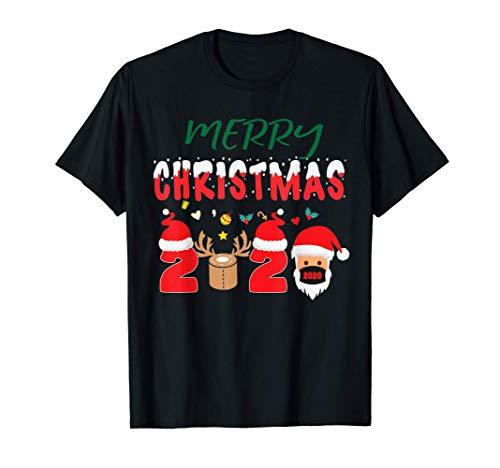 Feliz Navidad 2020 Pijamas a juego para la familia Regalo de Camiseta