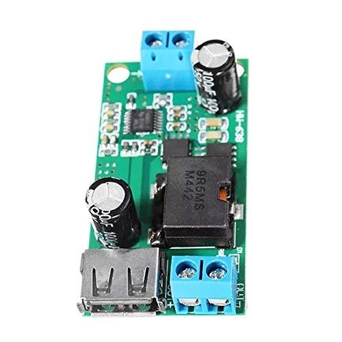 ZGQA-AOC Convertidor de voltaje de la placa del módulo de alimentación for vehículos 3pcs DC-DC 9-38V for 5V 5A bajada Junta Buck Módulos de alto rendimiento de alta Fuente de alimentación del convert