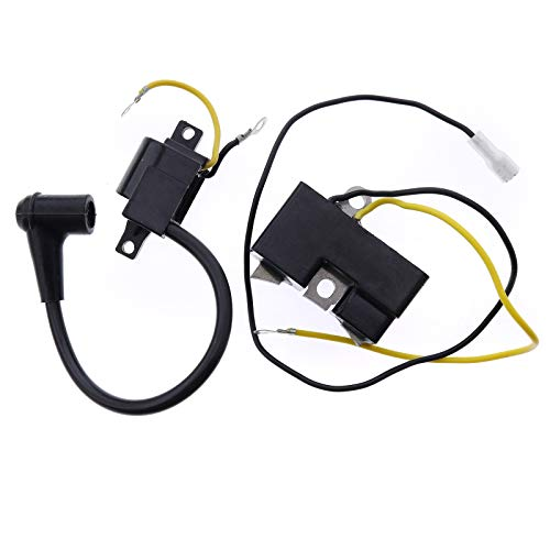 YQ 501617201 501546201 501546201 501517201 Ignition Coil Module Kit for Husqvarna Chainsaw 266 266XP 266SE 66 162 61 55 51 50 Jonsered Chainsaw 625 630 670 (Fits Old Style Only)