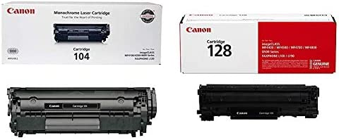 Genuine Canon Toner Cartridge 104 - Black