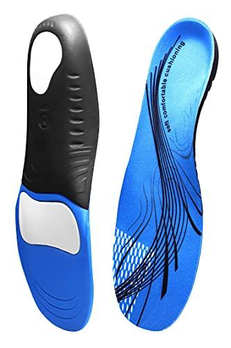 DHURAN インソール 衝撃吸収 なかじき 靴 中敷き 中敷 アーチサポートインソール 扁平足 ランニングシューズ 男女用 立ち仕事 両足1セット M(26.5cm~28.5cm)  (M)