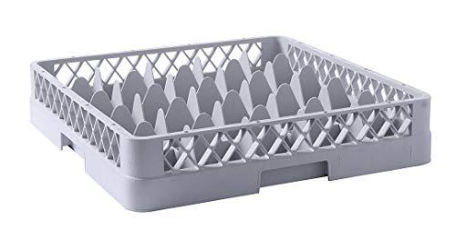 HENDI Cesta de lavavajillas para vasos - 25 compartimentos - 500x500x(H)104 mm